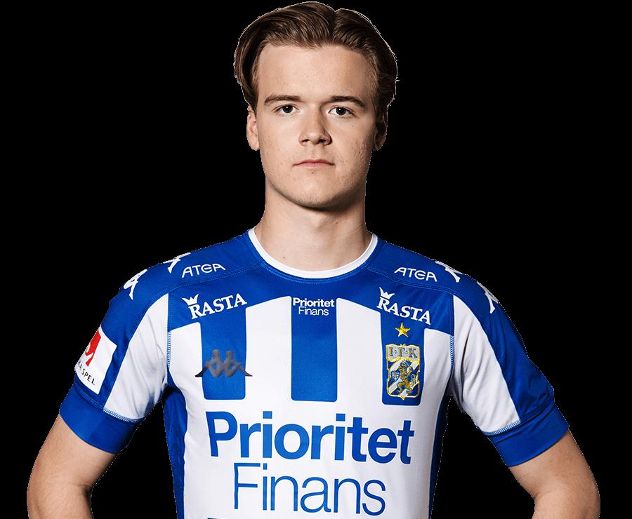 August Erlingmark porträtt 2018