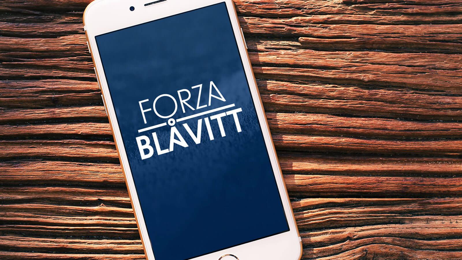 Forza Blåvitt app