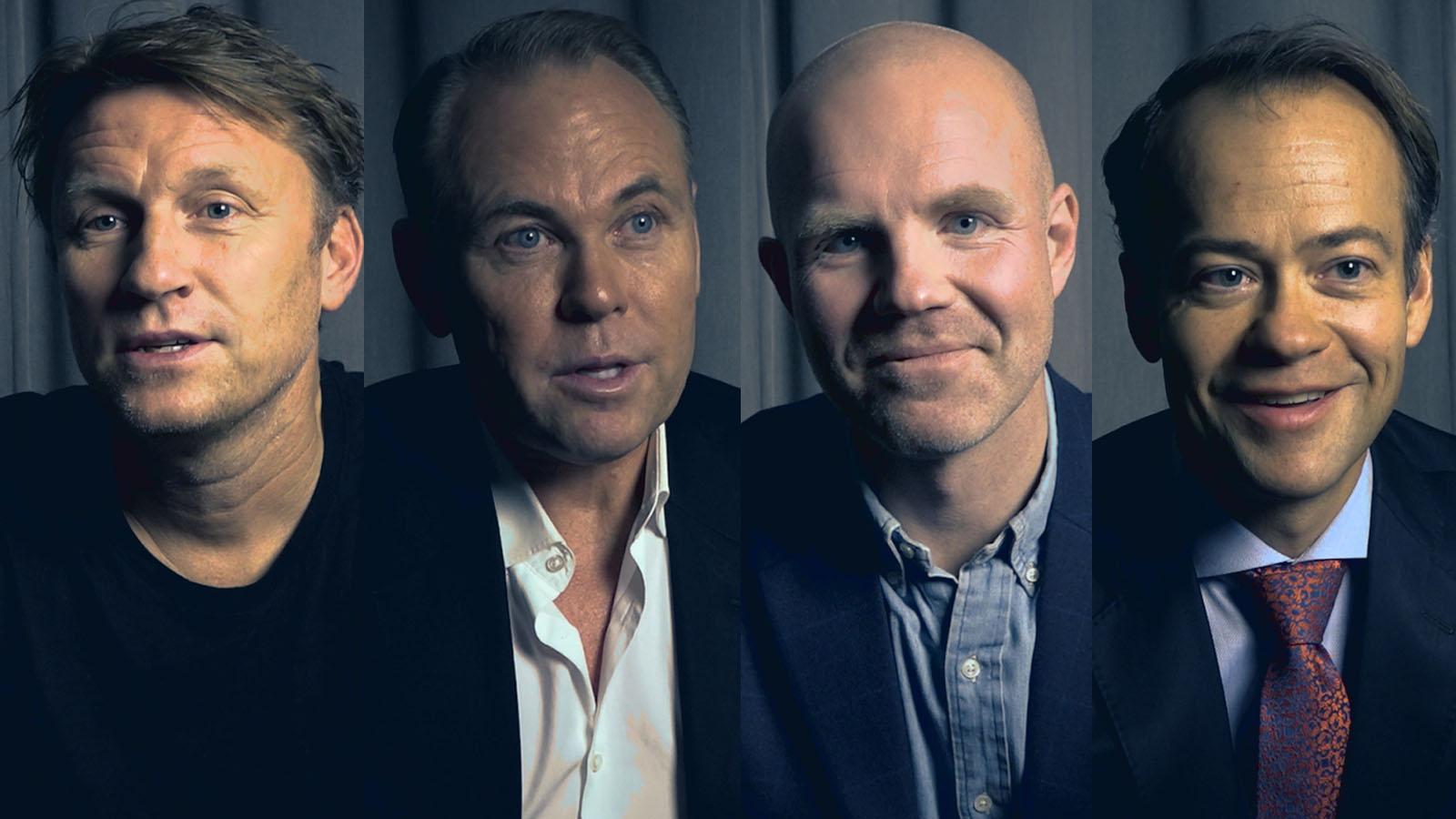valberedningens nomineringar till IFK Göteborgs styrelse – Kennet Andersson, Anders Ovdahl, Peter Brandt och Richard Berkling