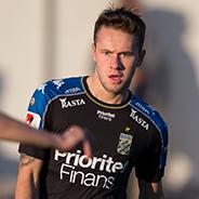 180203 IFK Göteborgs Andreas Öhman under en träningsmatch i fotboll mellan IFK Göteborg och Odense den 3 februari 2018 i Pinatar Football Center. Foto: Michael Erichsen / BILDBYRÅN / Cop 89