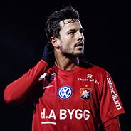 180201 Örgrytes Jesper Jörnvik under en träningsmatch i fotboll mellan Örgryte och Sävedalen den 1 februari 2018 i Göteborg. Foto: MATHIAS BERGELD / BILDBYRÅN / Cop 200