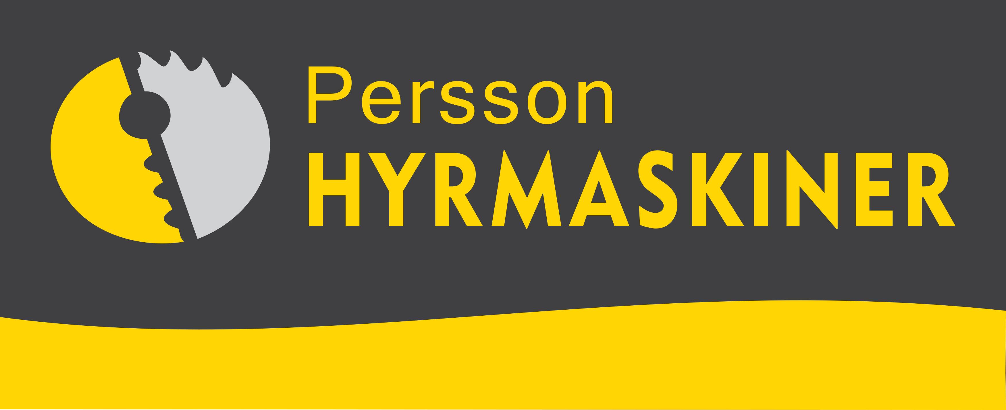 Persson Hyrmaskiner logo 2018