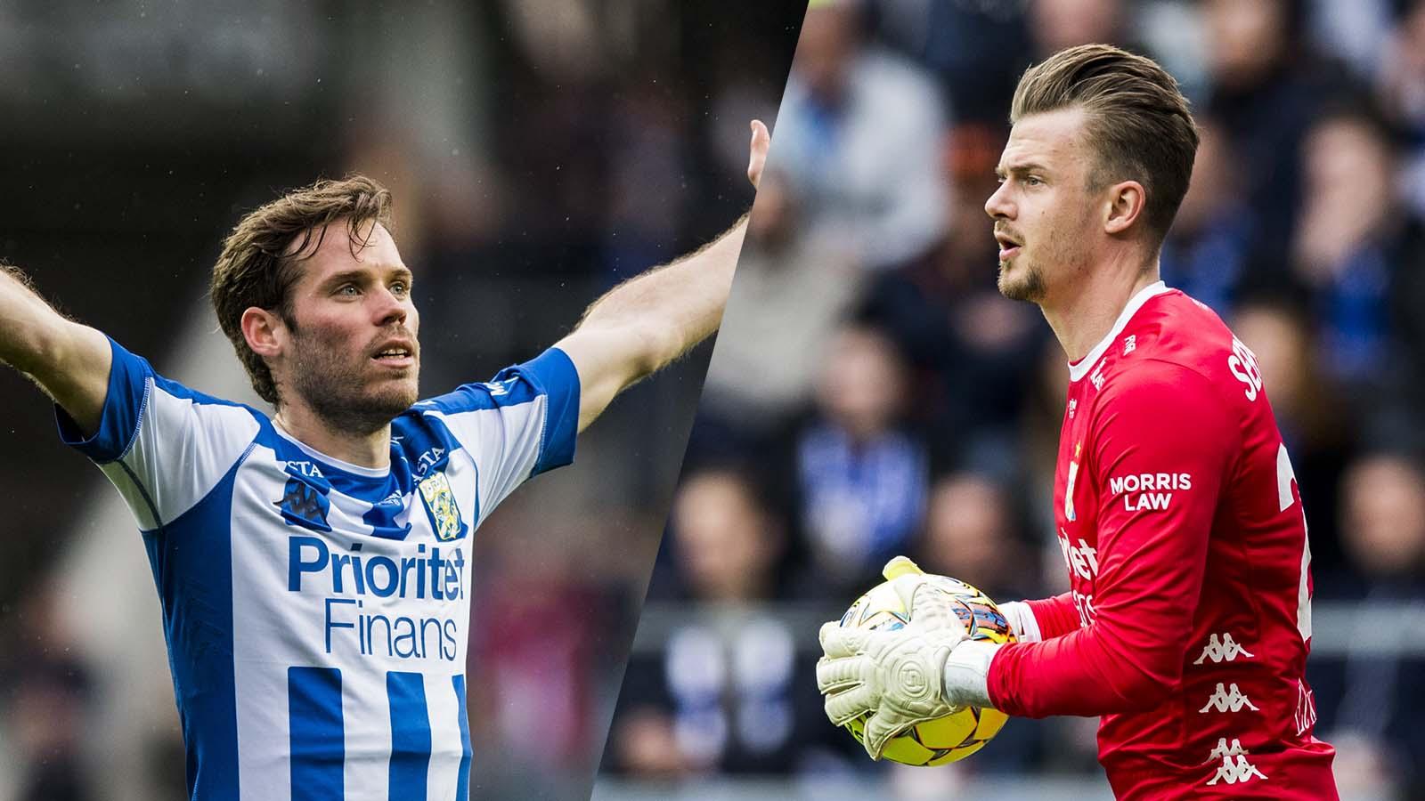 180428 IFK Göteborgs målvakt Erik Dahlin under fotbollsmatchen i allsvenskan mellan IFK Göteborg och Häcken den 28 april 2018 i Göteborg. Foto: Michael Erichsen / BILDBYRÅN / Cop 89