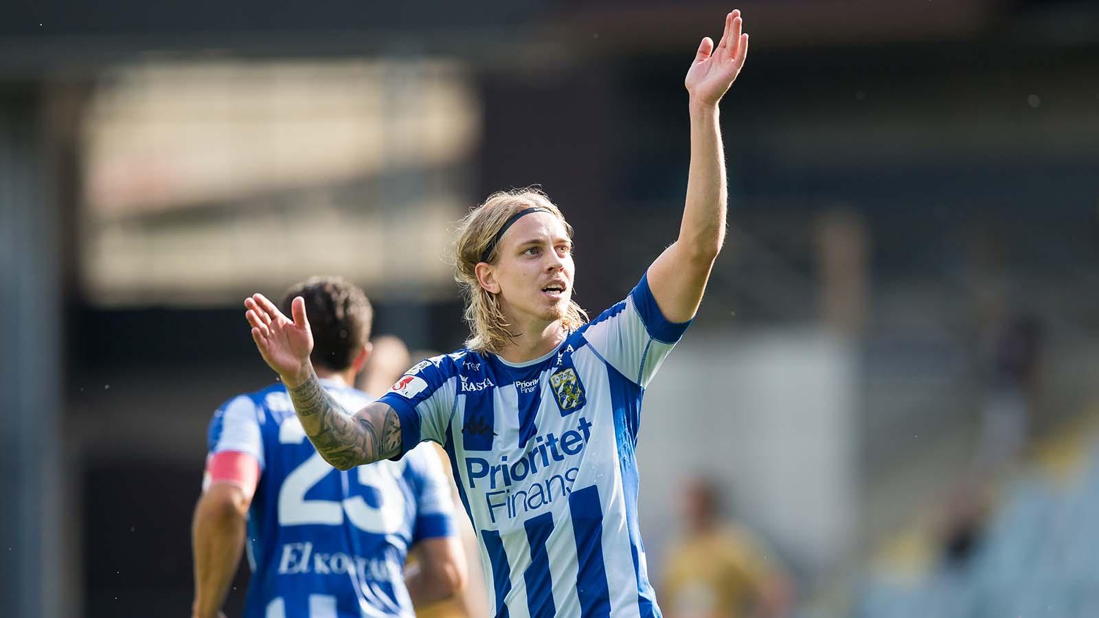 Elias lämnar IFK Göteborg
