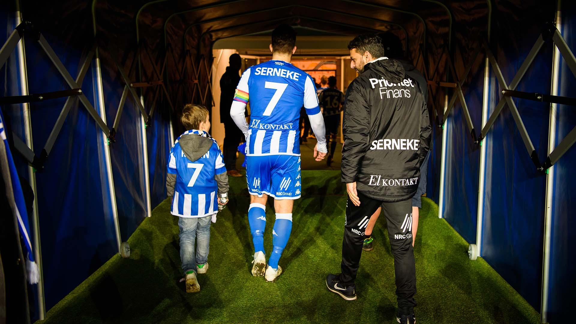 181104 IFK Göteborgs Tobias Hysén i spelartunneln efter fotbollsmatchen i Allsvenskan mellan IFK Göteborg och Malmö FF den 4 november 2018 i Göteborg. Foto: Carl Sandin / BILDBYRÅN / kod CS / 57999_407