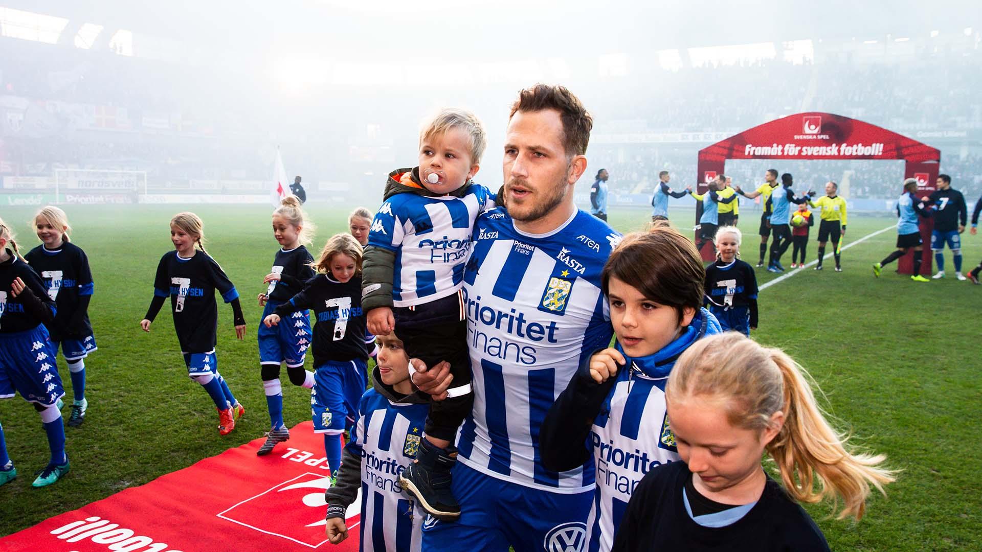 181104 IFK Göteborgs Tobias Hysén inför fotbollsmatchen i Allsvenskan mellan IFK Göteborg och Malmö FF den 4 november 2018 i Göteborg. Foto: Michael Erichsen / BILDBYRÅN / Cop 89 / 57999_407