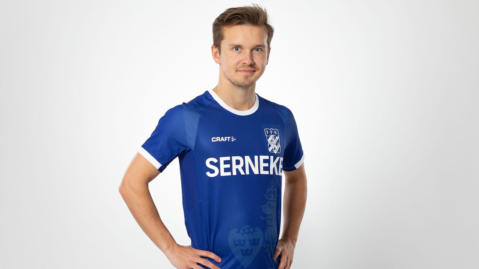 Unik IFK-blå försäsongströja